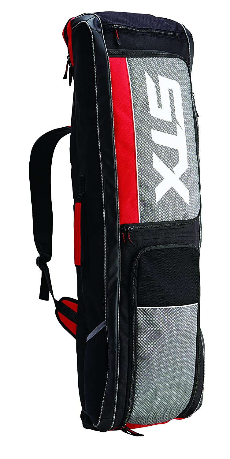 Amazon.com : STX Field Hockey Passport Travel Bag, Black/Red ...