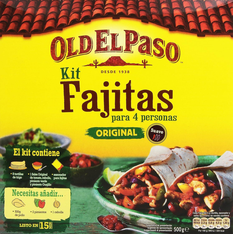Old El Paso - Kit Para Fajitas - 500 g: Amazon.es: Alimentación y bebidas