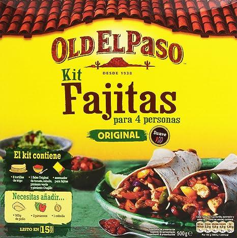 Old El Paso Kit Para Fajitas - 500 g