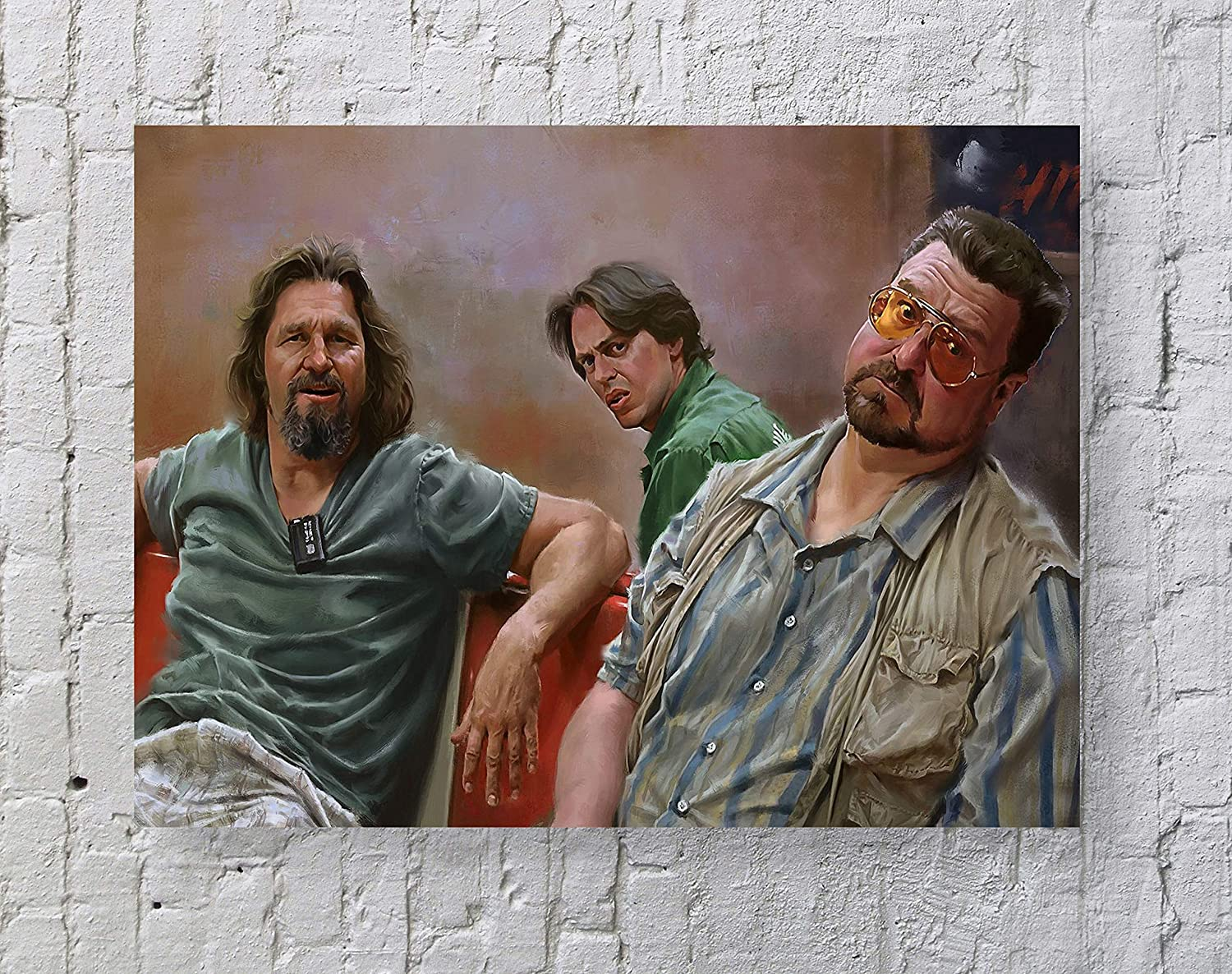MeiMeiZ The Big Lebowski Movie Poster Standard Size | 18-Inches by 24-Inches | The Big Lebowski Posters Wall Poster Print