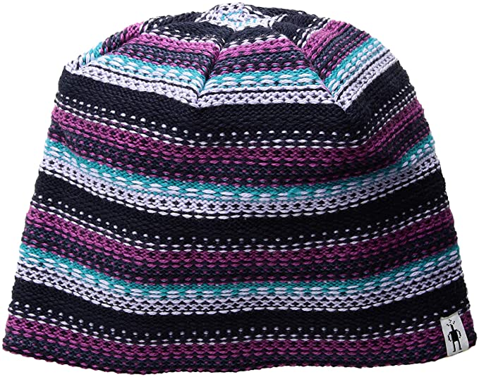 d15a72eb362 Amazon.com  SmartWool Women s Marble Ridge Hat (Charcoal Heather) One Size   Sports   Outdoors