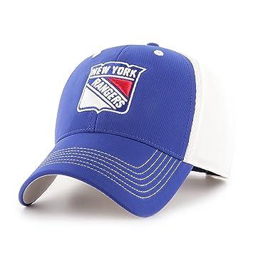 the latest 43164 f1744 NHL New York Rangers Sling OTS All-Star MVP Adjustable Hat, Royal, One  Size, Baseball Caps - Amazon Canada