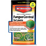 BioAdvanced 701230A Fungus Control Fungicide Cures and Prevents Lawn Diseases, 10-Pound, Ready-to-Spread Granules