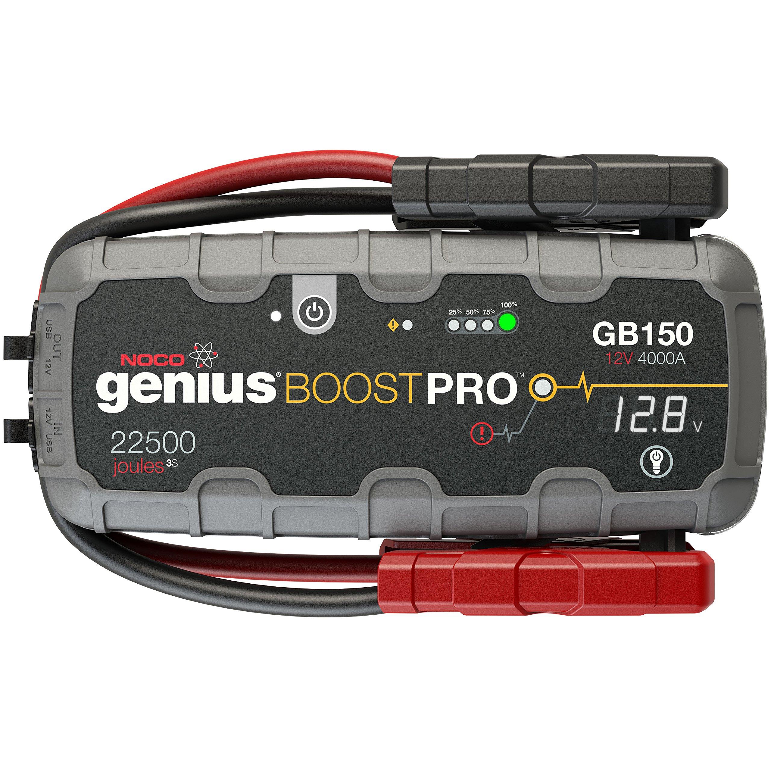 NOCO Genius Boost Pro GB150 4000A 23000mAh Jump Starter Diesel(10L)