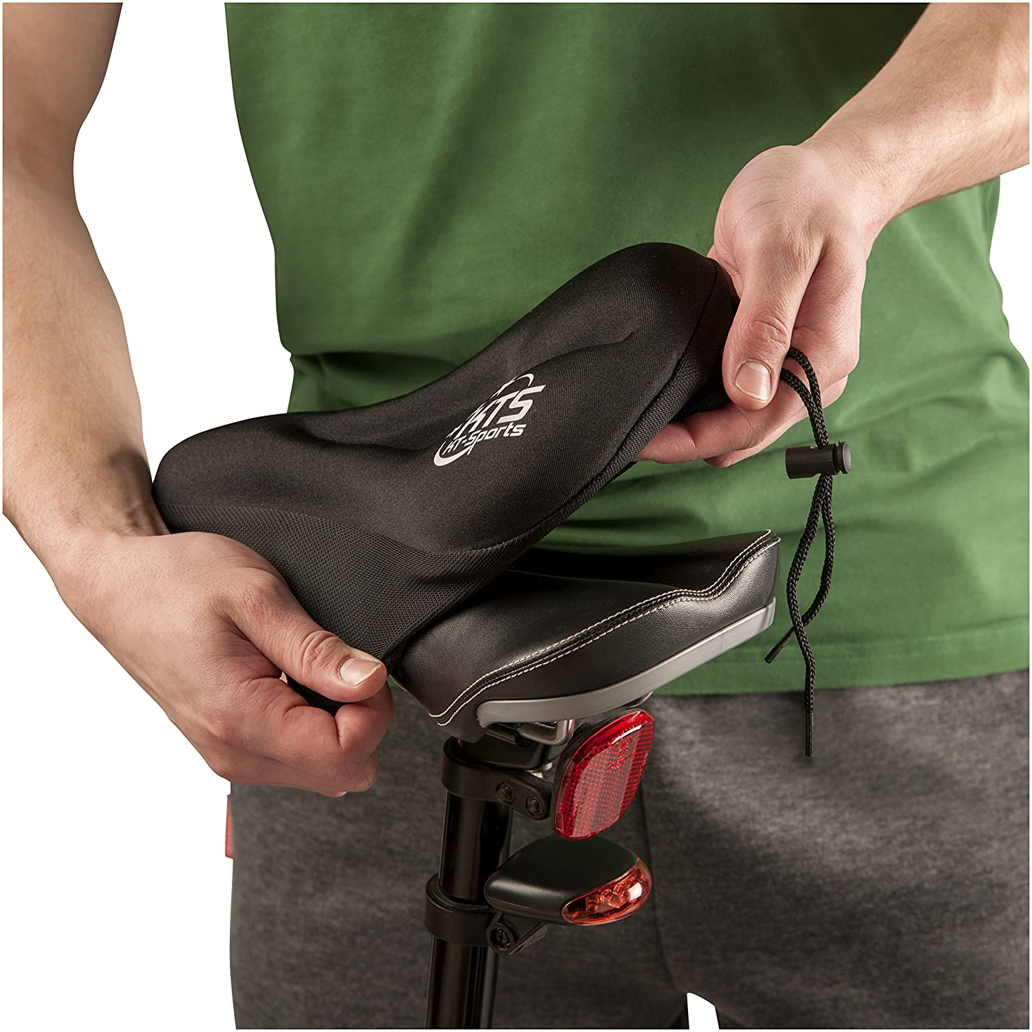 Kt Sports Gel Bike Seat Cover Sports Outdoors