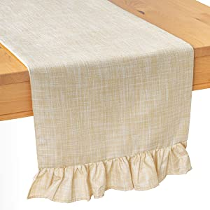 Sweepstakes: The White Petals Beige Side Table Runners…