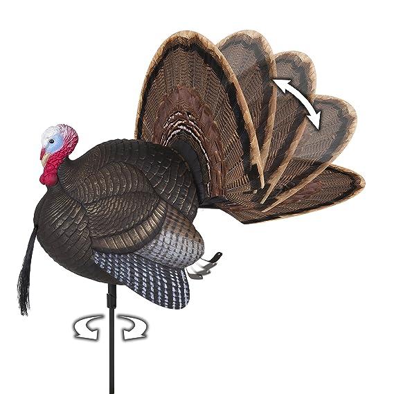 amazon com flambeau outdoors md 735 mad spin n strut motion turkey decoy sports outdoors