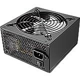 Tacens Radix ECO 500W - Fuente de alimentación (500 W, 220 x 300 mm, 47 - 63 Hz, 140 mm, Superior, Activo), Negro