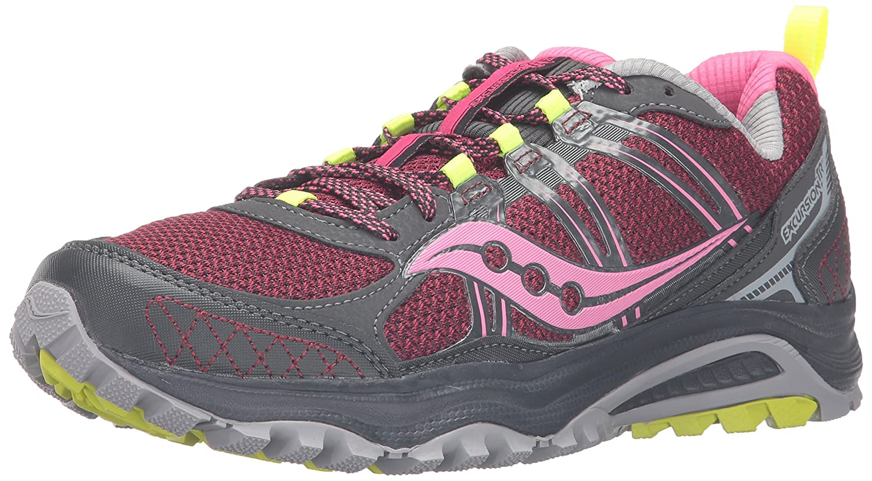 Saucony Women's Grid Excursion Tr10 Trail Running Shoe B01923EK06 5 B(M) US|Pnk/Black/Ct