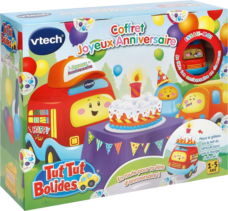 509505 VTech Tut Bolides-Coffret Joyeux Anniversaire