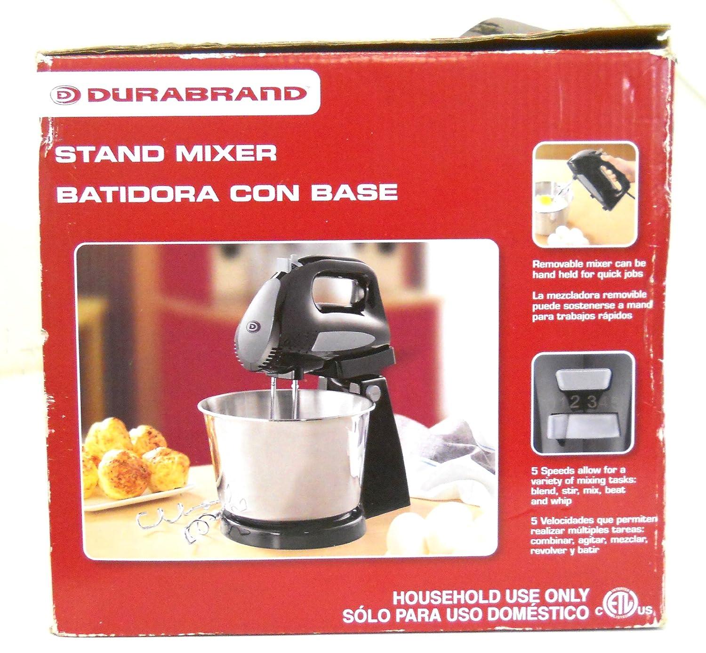 Amazon.com: Durabrand DC-SM168 Stand Mixer w/ 300 Watts 3.5Q Quart Capacity: Kitchen & Dining