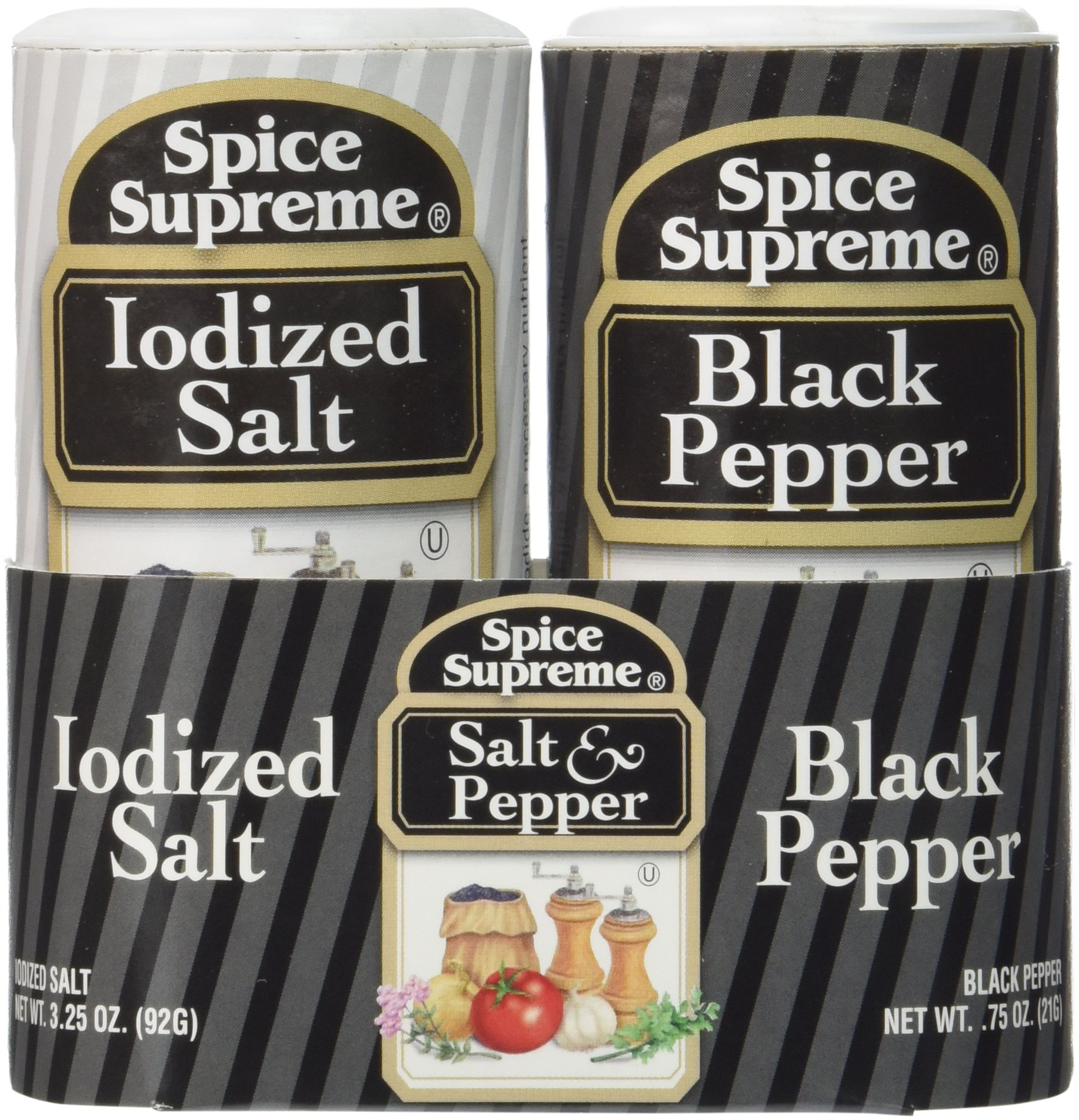 Spice Supreme Salt & Pepper Double Pack