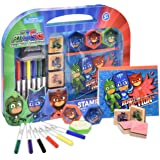 PJ Masks Coloring Stamper and Activity Set, Mess Free Craft Kit for Toddlers and Kids, Drawing Art Supplies Included…