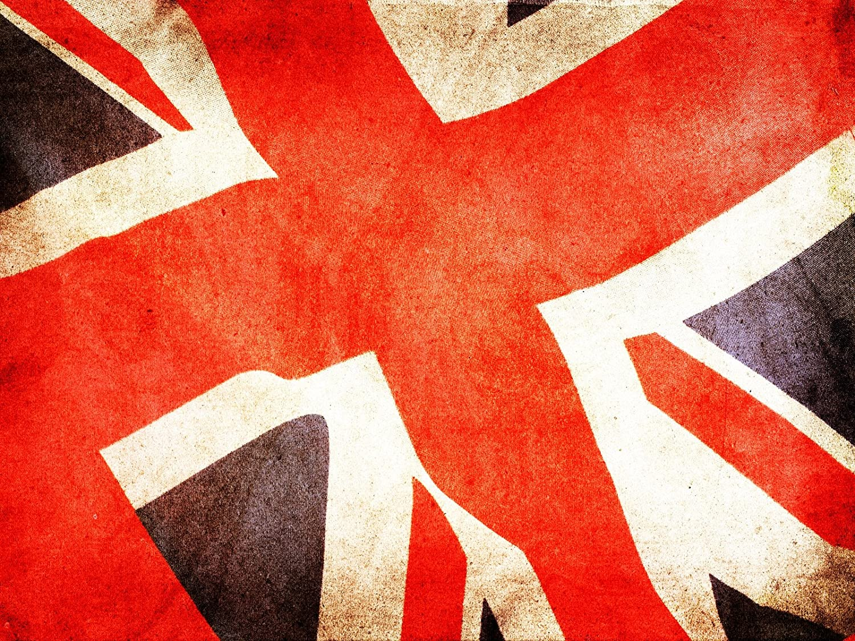 Union Jack British Flag A4 260gsm Poster  Print