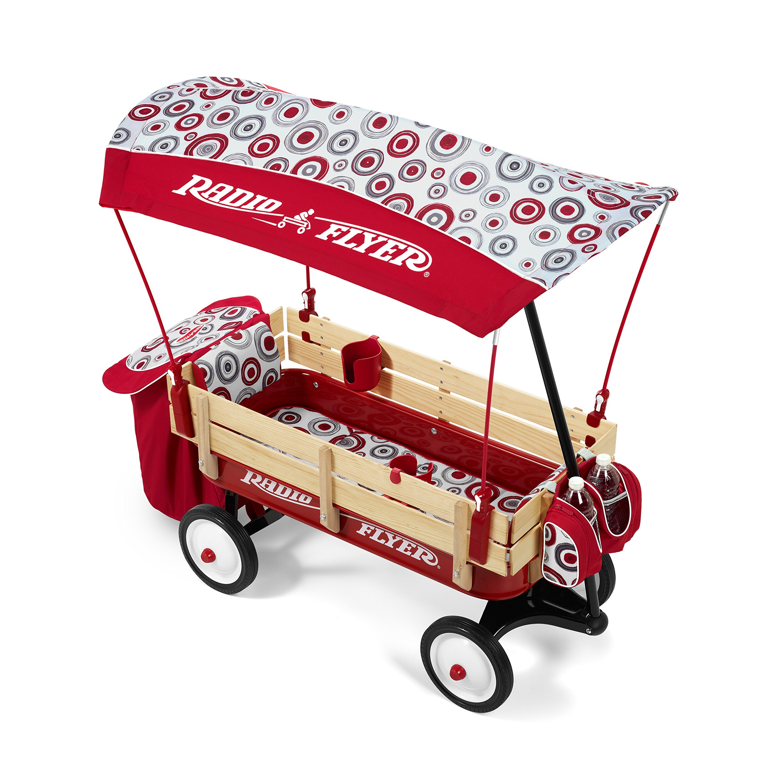 Canopy Radio System : Radio flyer build a wagon steel wood rubber tires