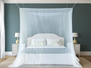 1 Mosquito Net By NATURO For Double Bed Canopy