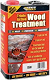 Everbuild LJUN05 5Ltr Lumberjack Triple Action Wood Treatment