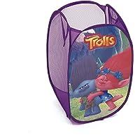 Arditex TL11358 Cesta pongotodo guarda juguetes, diseño Trolls