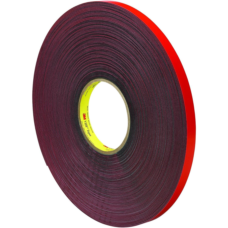 1//2 x 5 yd. VHB VHB461112R Gray #4611 Adhesive Tape
