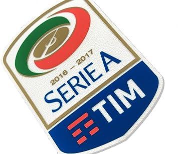 Patch Badge Serie A TIM - Parches insignia para camiseta aleación fútbol oficial de goma original auténtico, 2016/17: Amazon.es: Deportes y aire libre
