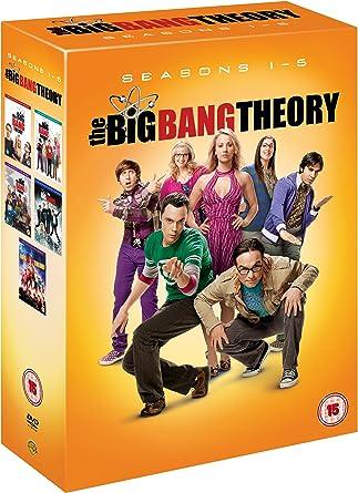 3e1f5abe95 The Big Bang Theory  Seasons One - Five DVD 2012  Amazon.co.uk ...