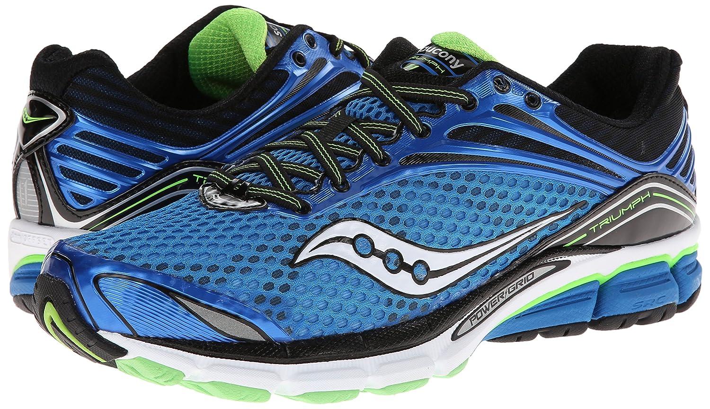 8d879b5515f Saucony Triumph 11 bleu noir Chaussures Running Homme Pointure 46 (US11.5)   Amazon.fr  Sports et Loisirs