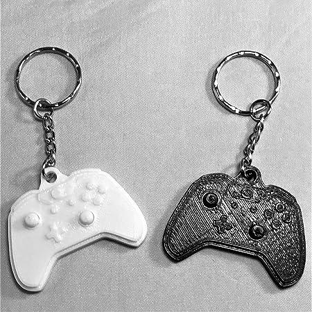 Xbox Logo Metal Pendant Keyring Porte-cl/és 16 Centimeters Noir Black