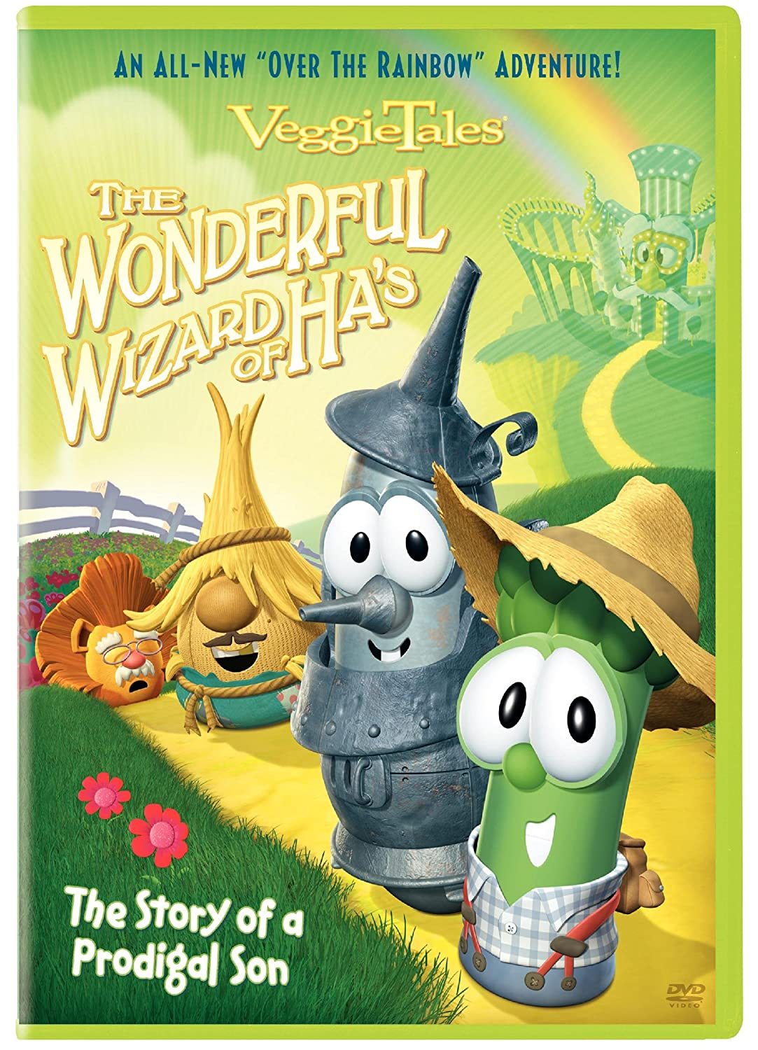 Veggie Tales: The Wonderful Wizard of Ha's Mike Nawrocki Phil Vischer Brian Roberts Warner Bros. Home Video