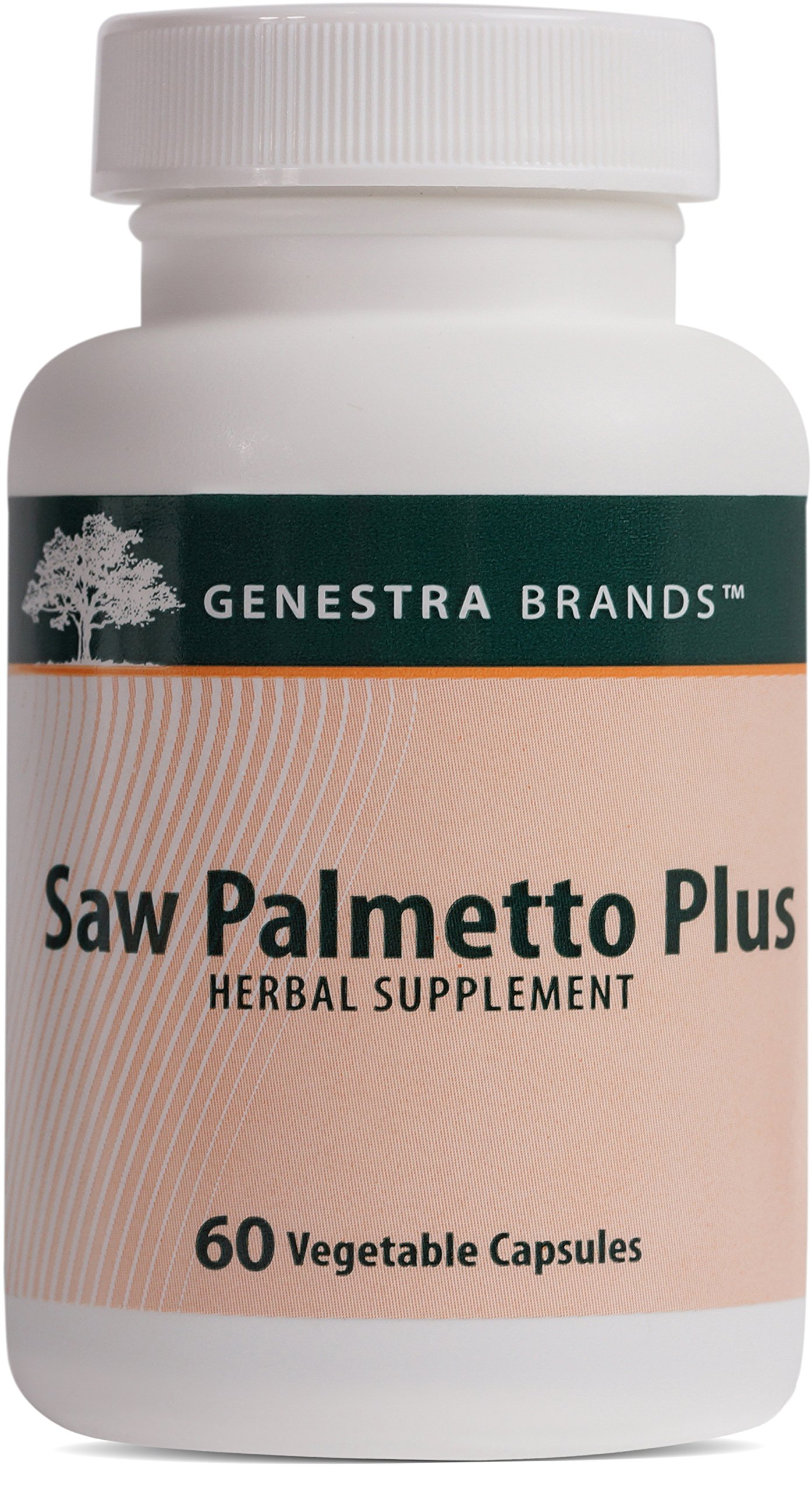 Genestra Brands - Saw Palmetto Plus - Standardized Herbal Extract for Prostate Health* - 60 Capsules