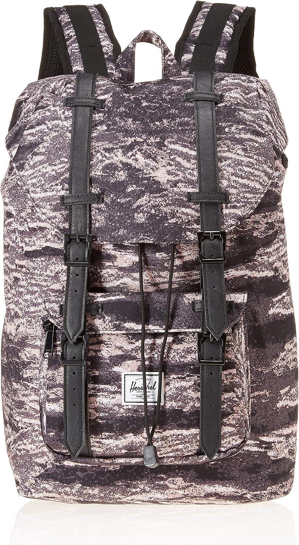 Herschel Little America Mid Volume Sac /à dos unisexe pour adulte Noir Noir - 10492-00001-OS gris taille unique