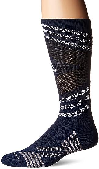 73da2e7e0f9e adidas Unisex Speed Mesh Basketball Football Team Crew Sock  Amazon ...