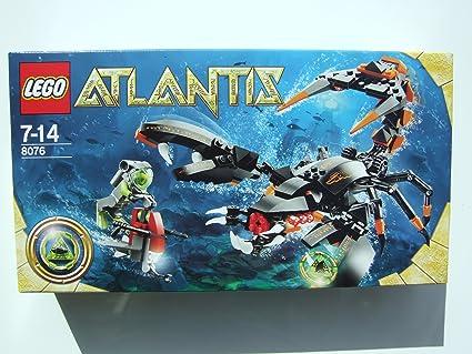 Amazon.com: LEGO Atlantis 8076: Deep sea striker: Toys & Games