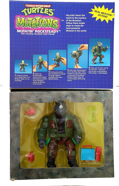 Teenage Mutant Ninja Turtles Mutatin Rocksteady