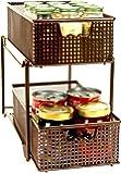 Amazon Com 2 Tier Under Sink Sliding Baskets 14 Inch
