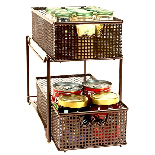 Sliding Wire Baskets Amazon Com
