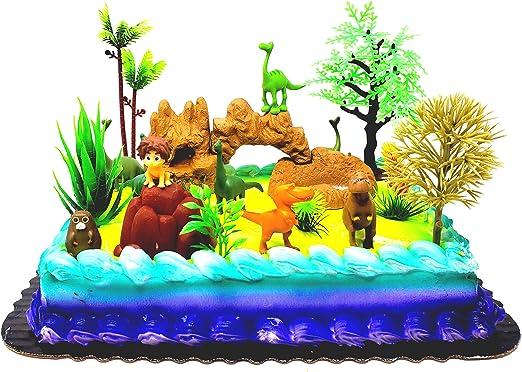 Personalised The Good Dinosaur Cake Topper Arlo Disney Pixar Birthday Card
