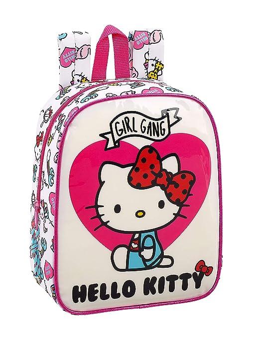 4643c595a7 Hello Kitty 2018 Zaino, 27 cm, Rosa: Amazon.it: Valigeria