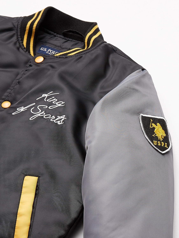 U.S Boys Nylon Varsity Jacket Polo Assn