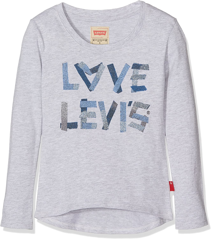 Levis Lovis - Camiseta para niños, color gris (neutre), talla 8 años: Amazon.es: Ropa y accesorios