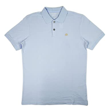 9199bd13ff79bd Banana Republic Men s Pique Elephant Logo Polo Shirt Light Blue Small