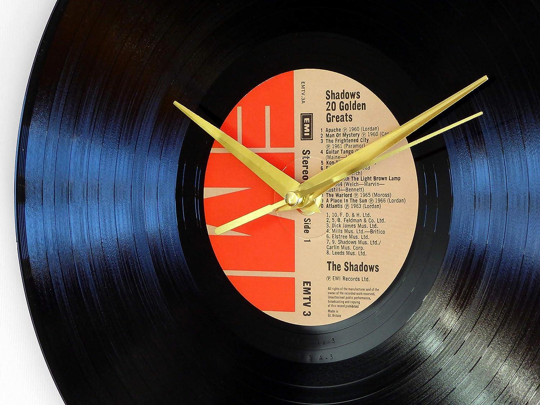 The Shadows 20 Golden Greats Vinyl Record Wall Clock