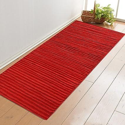 Saral Home Soft Cotton Multi-Purpose Chenille Rugs 70x180 cm