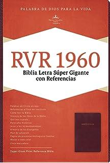 Reina valera 1960 biblia en audio spanish edition american bible rvr 1960 biblia letra sper gigante borgoa imitacin piel con ndice spanish edition fandeluxe Image collections