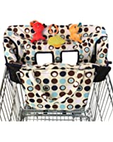 Crocnfrog 2-in-1 Shopping Cart Cover   High Chair Cover for Baby