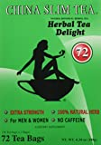 China Slim Tea Extra Strength For Men and Women 72 Tea Bags