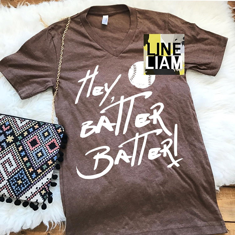 ebd887402 hey batter batter shirt, womens baseball tshirt, baseball shirt, baseball  mom shirt, baseball graphic tshirt, womens tshirts, womens tops, shirts for  women, ...