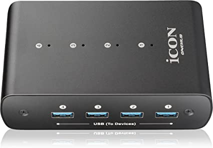Icon OneHub USB-Ports Power Center USB Hub MIDI DAW Controller