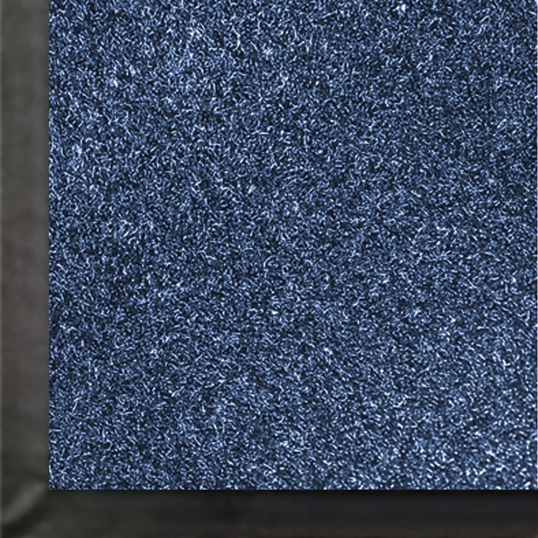 For Indoor 5/' Length x 3/' Width The Andersen Company 871-20-5F3F 5 Length x 3 Width Andersen 871 Academy Blue Olefin Impressionist Floor Protection Mat