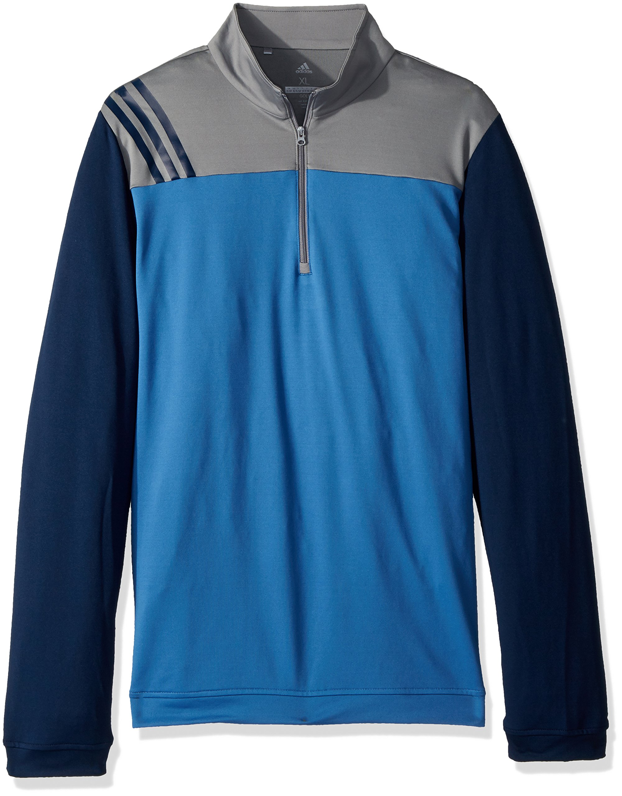 adidas Golf 3-Stripe Layering Jacket, Trace Royal, Medium