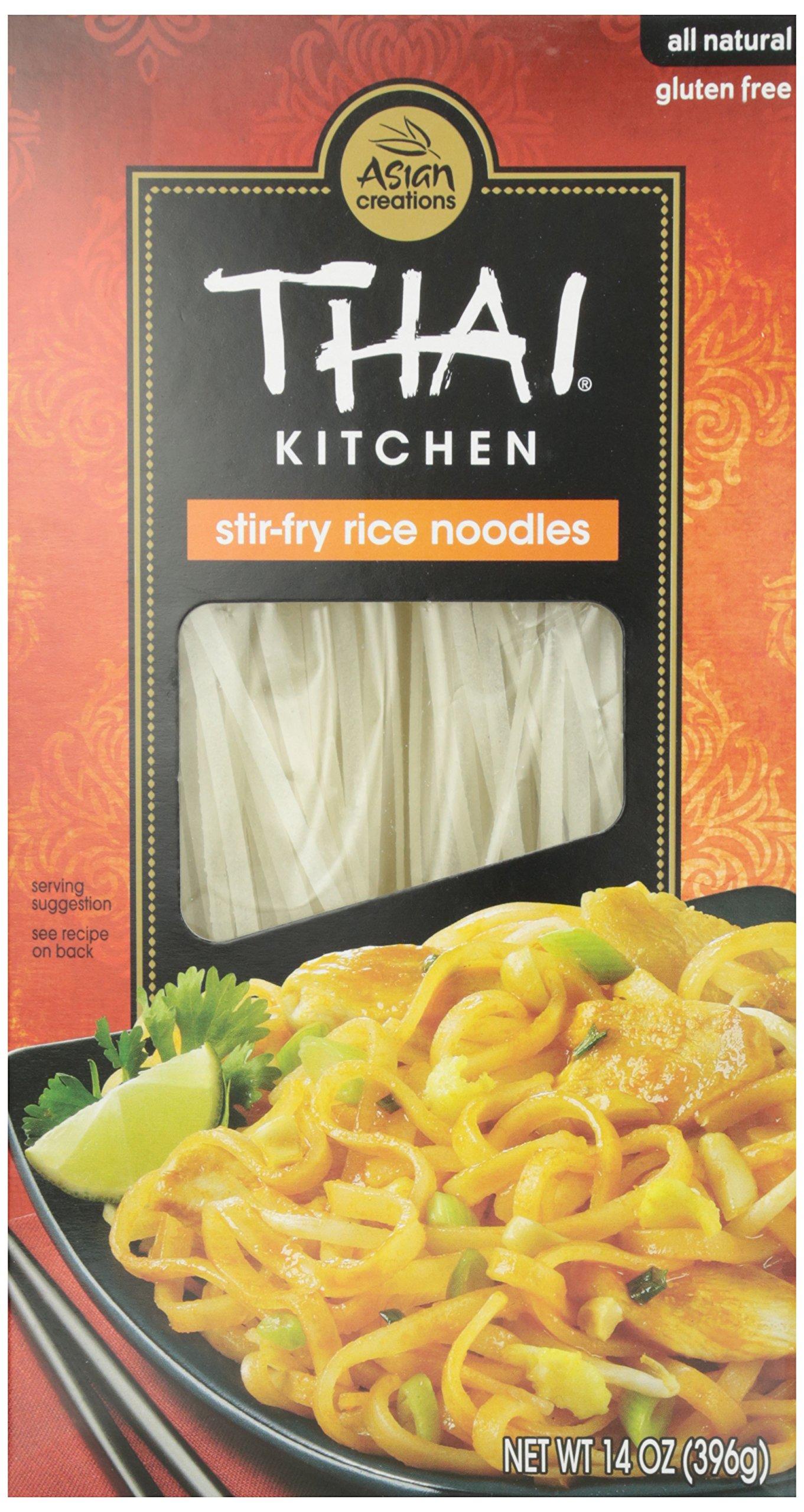 Thai Kitchen Stir Fry Rice Noodles, 14 oz